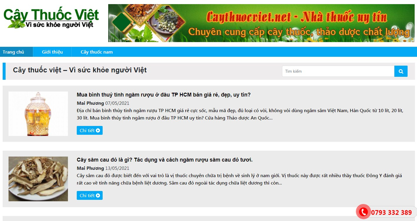 Cây thuốc Việt – Vì sức khỏe người Việt