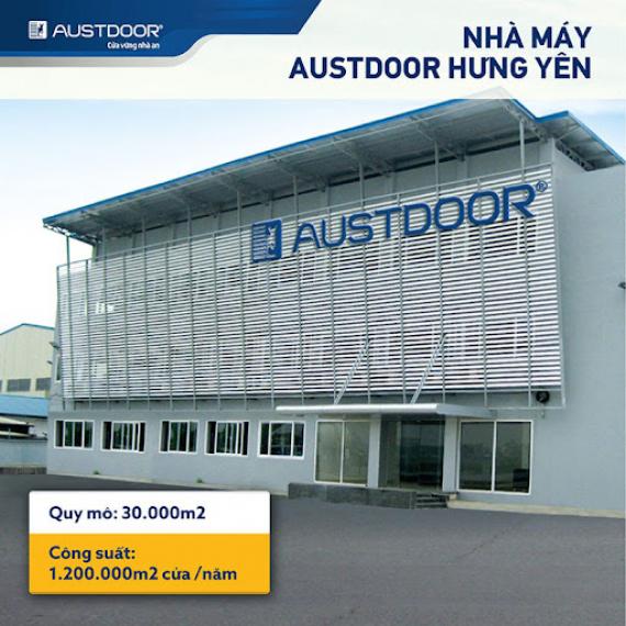Cửa cuốn Austdoor đồng bộ chất lượng cao.