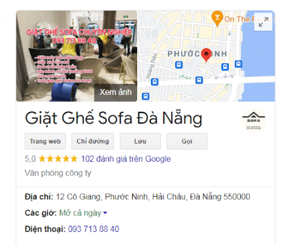 Top 5 dịch vụ giặt ghế sofa tại Đà Nẵng chuyên nghiệp tin cậy